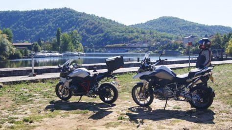 Motorcycle tour Cahors, France