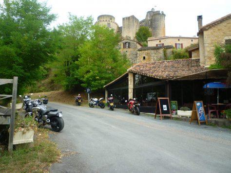 Bonaguil Chateaux motorcycle tour