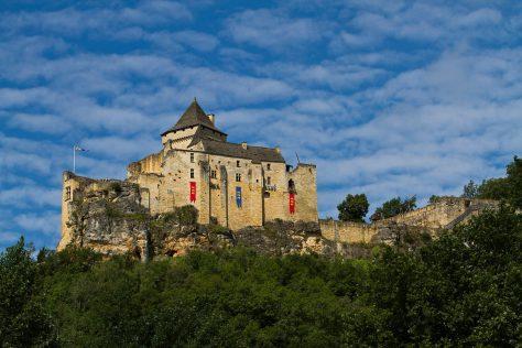 Castelnaud Chateaux motorcycle tour