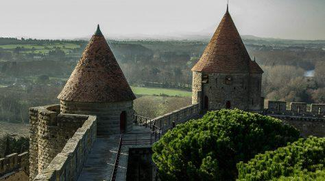 carcassonne - motorcycle tour france