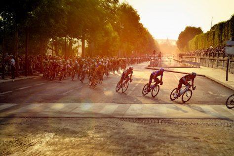 Tour de France motorcycle tour